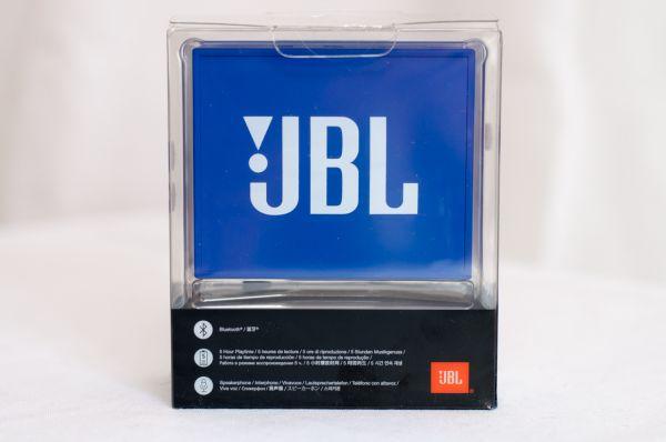 JBL Go Rückseite mit großem Logo