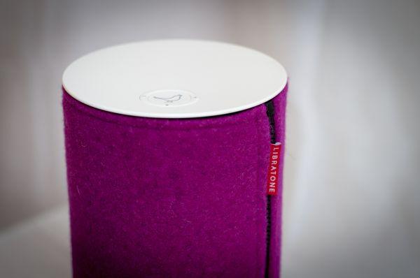 Libratone Zipp Cover in pink