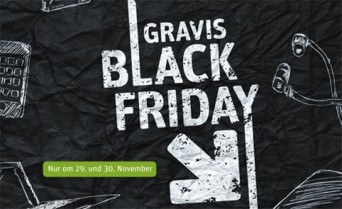 Black Friday bei Gravis