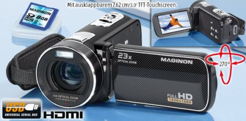 Magion Full HD Camcorder