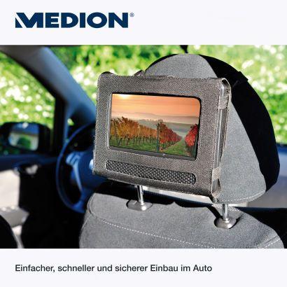 Halterung am Rücksitz mit inklusive (www.aldi-nord.de)