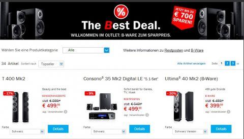 Teufel Deals (www.teufel.de)