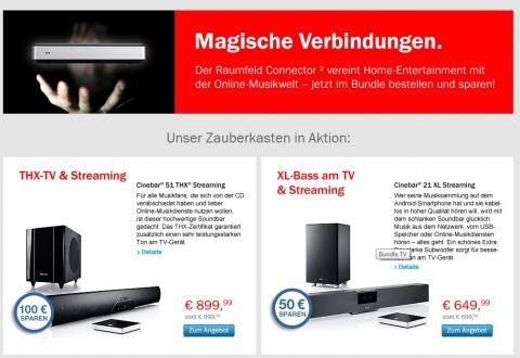 Teufel Streaming Bundles (www.teufel.de)