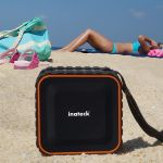 Ideal bei Wind und Wetter – der Inateck Bluetooth-Lautsprecher IPX5